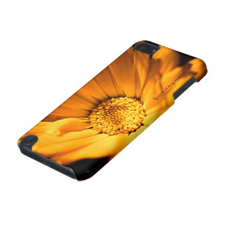 Bright Orange Daisy Wildflower iPod Touch (5th Generation) Case