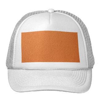 Bright Orange Neon Trendy Colors Trucker Hats