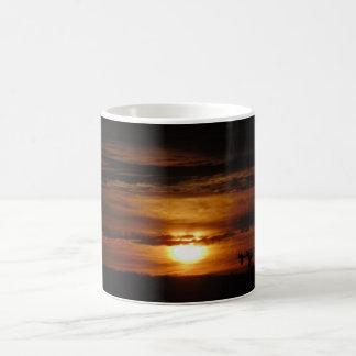 Bright Orange/Red Sunrise Coffee Mug