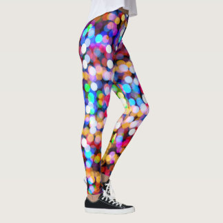 Bright Party Lights Leggings