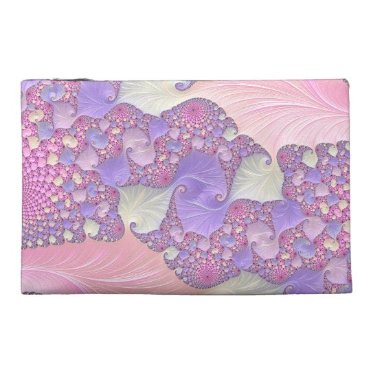 Bright Pastels Fractal Travel Accessories Bags