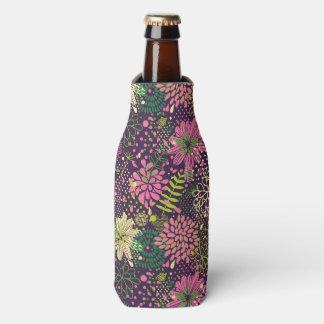 Bright pattern bottle cooler