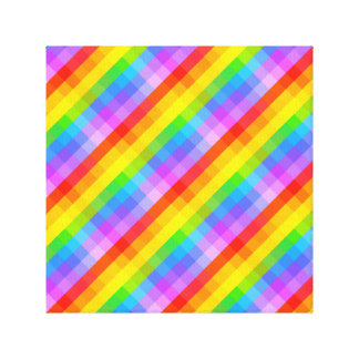 Bright Pattern Stretched Canvas Prints