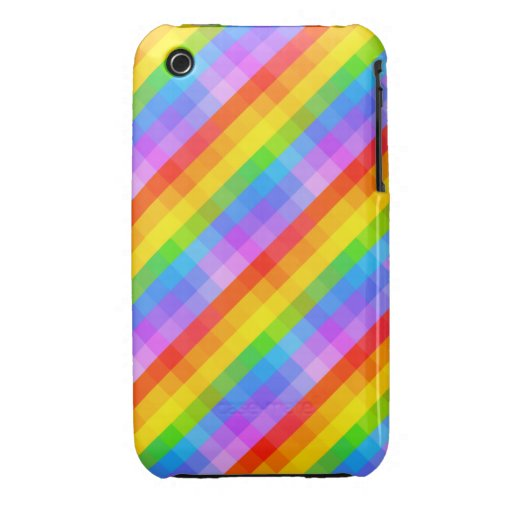 Bright Pattern. iPhone 3 Case