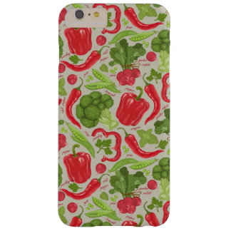 Bright pattern from fresh vegetables barely there iPhone 6 plus case