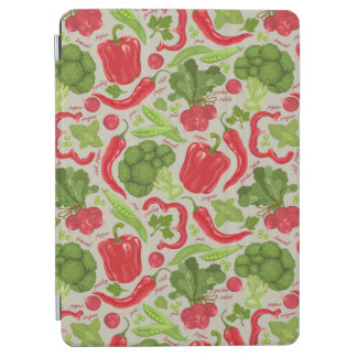 Bright pattern from fresh vegetables iPad air cover