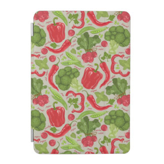 Bright pattern from fresh vegetables iPad mini cover