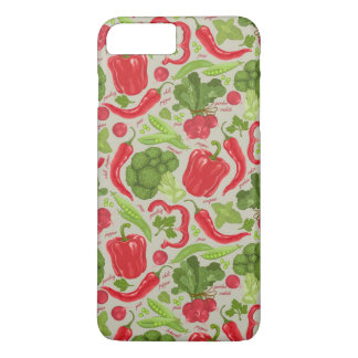 Bright pattern from fresh vegetables iPhone 8 plus/7 plus case