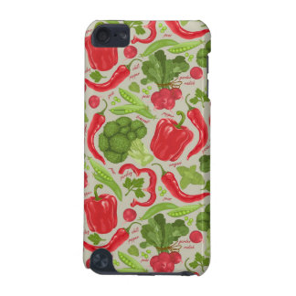Bright pattern from fresh vegetables iPod touch (5th generation) covers