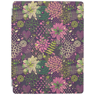 Bright pattern iPad cover