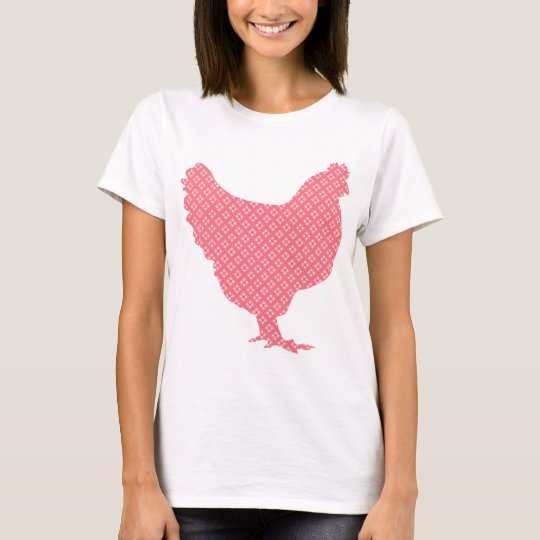 Bright patterned chicken T-Shirt