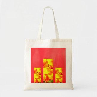 Bright Petals Tote Budget Tote Bag