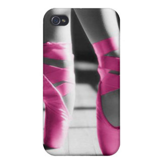Bright Pink Ballet Shoes iPhone 4/4S Cover
