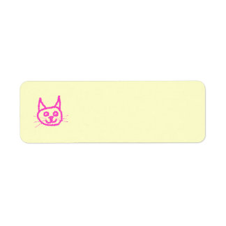Bright Pink Cat