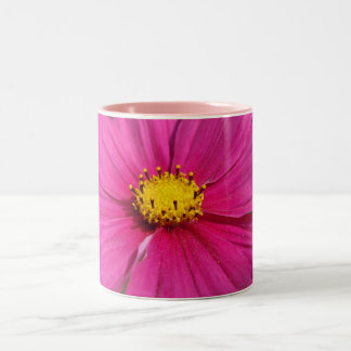 Bright Pink Centered Cosmo Two-Tone Coffee Mug
