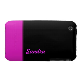 Bright Pink color  name iPhone 3 Case-Mate Case