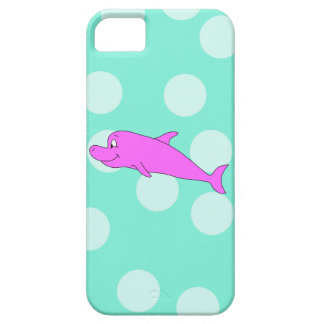 Bright Pink Dolphin. iPhone 5 Cover