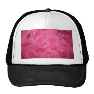 Bright Pink Feather Boa Hat