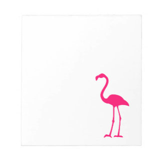 Bright Pink Flamingo Notepad