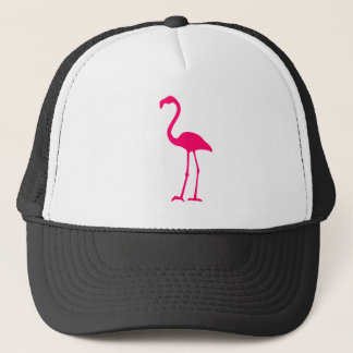 Bright Pink Flamingo Trucker Hat