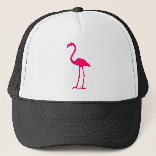 Bright Pink Flamingo Trucker Hat
