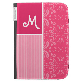 Bright Pink Floral Cases For The Kindle