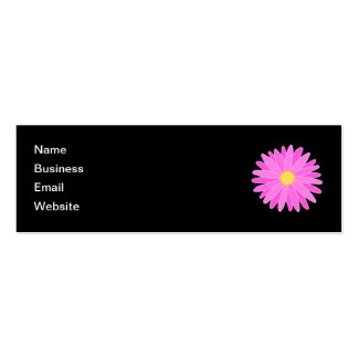 Bright Pink Flower Business Cards