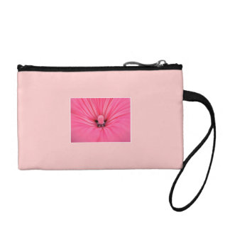 Bright Pink Flower. Coin Purse