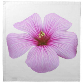 Bright Pink Flower Napkin