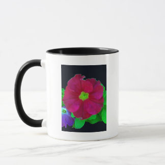 Bright Pink Petunia Mug