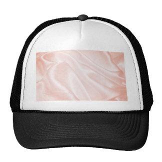 bright pink satin silk dreamy girly textile chic trucker hat