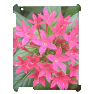 Bright Pink Tropical Flowers iPad Case
