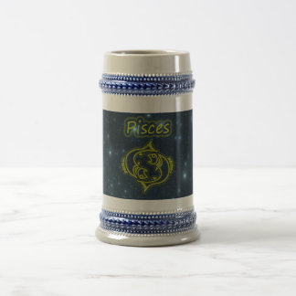 Bright Pisces Beer Stein