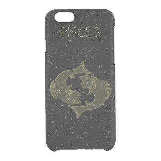 Bright Pisces Clear iPhone 6/6S Case
