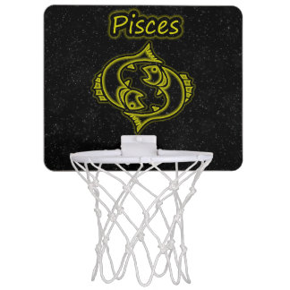 Bright Pisces Mini Basketball Hoop
