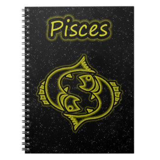 Bright Pisces Notebook