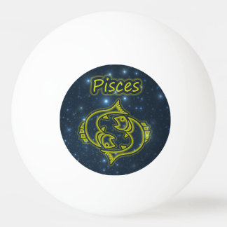 Bright Pisces Ping Pong Ball