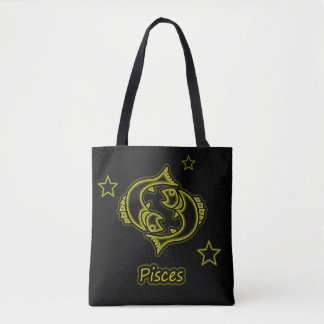 Bright Pisces Tote Bag
