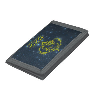 Bright Pisces Tri-fold Wallet