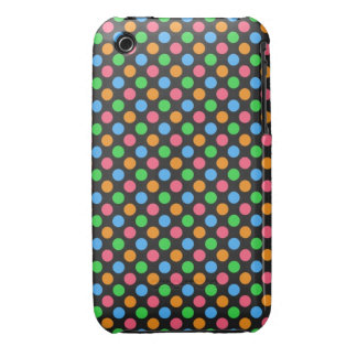 Bright Polka Dot - iPhone 3G Case iPhone 3 Cases