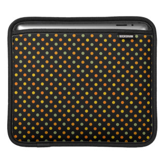 Bright Polka Dot Pattern iPad Sleeve