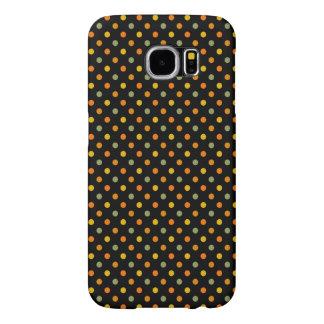 Bright Polka Dot Pattern Samsung Galaxy S6 Cases