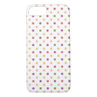 Bright Polkadots iPhone 8/7 Case
