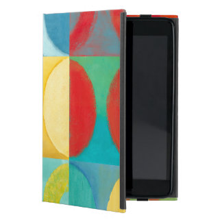 Bright Pop Art with Circles and Squares iPad Mini Cover