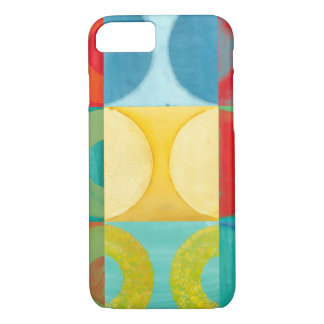 Bright Pop Art with Circles and Squares iPhone 8/7 Case