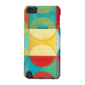 Bright Pop Art with Circles and Squares iPod Touch (5th Generation) Cases