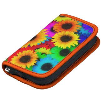 Bright Psychedelic Flower Child Hippy Pattern Planner