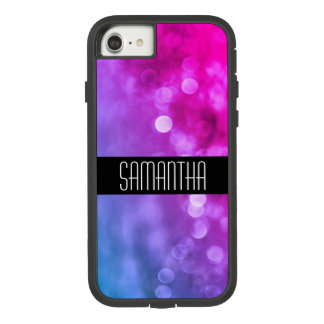 Bright Purple, Blue Bokeh Lights Case-Mate Tough Extreme iPhone 8/7 Case
