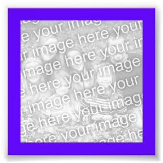 Bright Purple Frame Photo