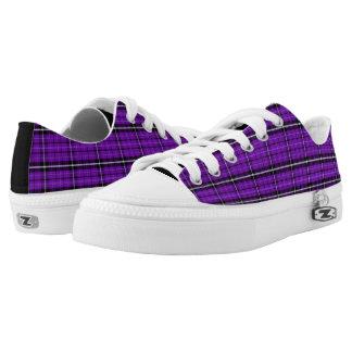 Bright Purple Low Top Sneakers